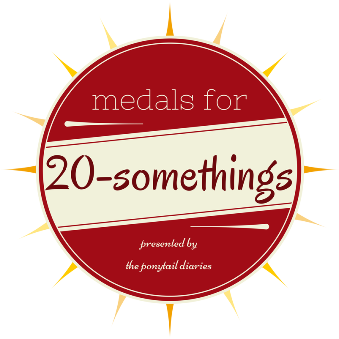 Medals for 20-Somethings