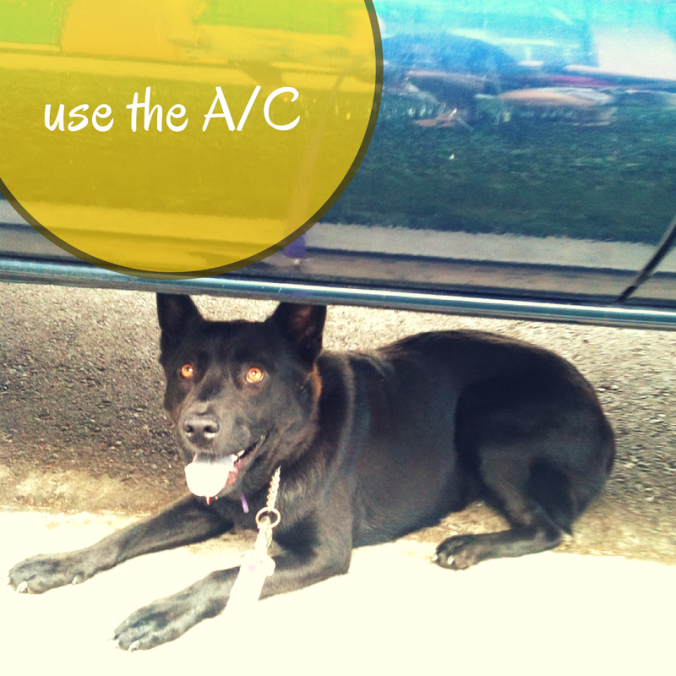 Use the A/C