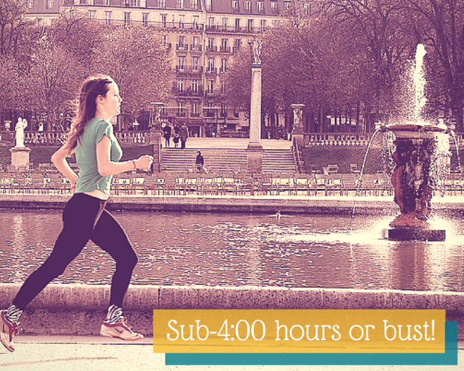 Marathon Training: Sub-4:00 hours or bust!