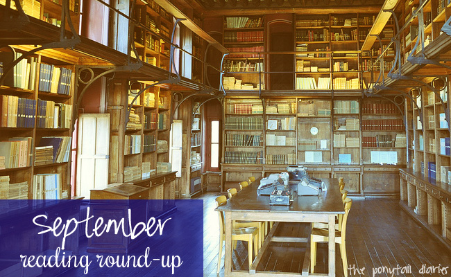 September Reading Round-Up {the ponytail diaires}