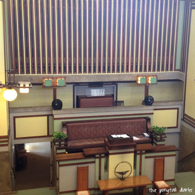 Unity Temple, Chicago {the ponytail diaries}