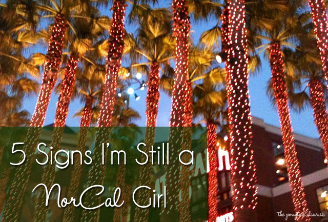 5 Signs I'm Still a NorCal Girl {the ponytail diaries}