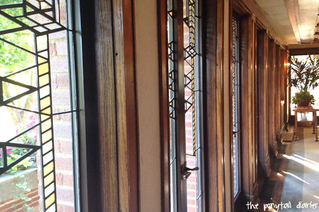 Robie House, Chicago {the ponytail diaries}