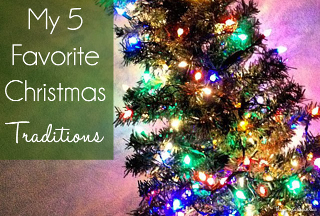 My 5 Favorite Christmas Traditions {the ponytail diaries}