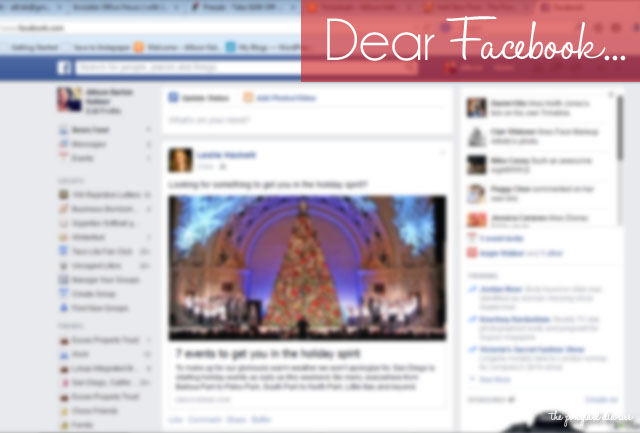 Dear Facebook... {the ponytail diaries}