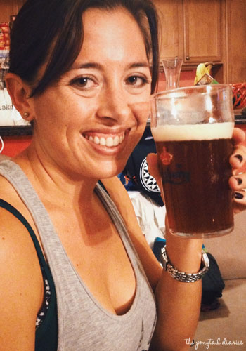 Homebrewing Success {the ponytail diaries}