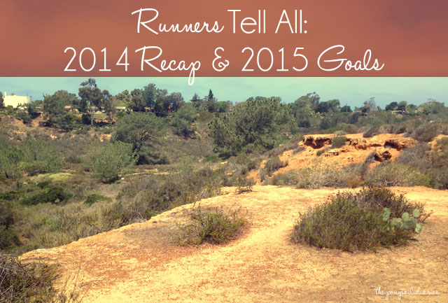 Runners Tell All: 2014 Recap & 2015 Goals {the ponytail diaries}