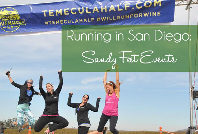Running in San Diego: Sandy Feet Events