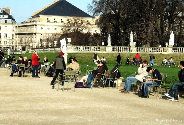 Jardin de Luxembourg, Paris, New Year's 2007 {the ponytail diaries}