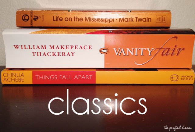 TBR Books: Classics {the ponytail diaries}