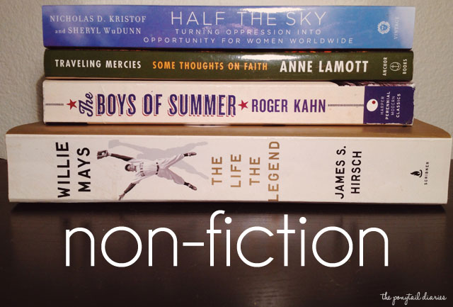 TBR Books: Non-Fiction {the ponytail diaries}