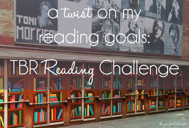 A Twist on My Reading Goals: TBR Reading Challenge {the ponytail diaries}